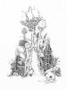 Trawy_11  (18x26 cm, rysunek tuszem)