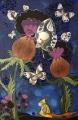 Kropla Nocy  (60x80 cm, pastele olejne, akwarele, ołówek, kredki)