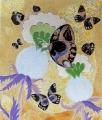 Motyle na pudełku z chińskiej laki